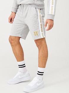 11-degrees-taped-sweat-shorts-grey-marl