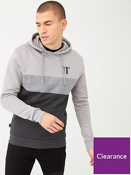 11-degrees-triple-panel-pull-over-hoodie-greysilver
