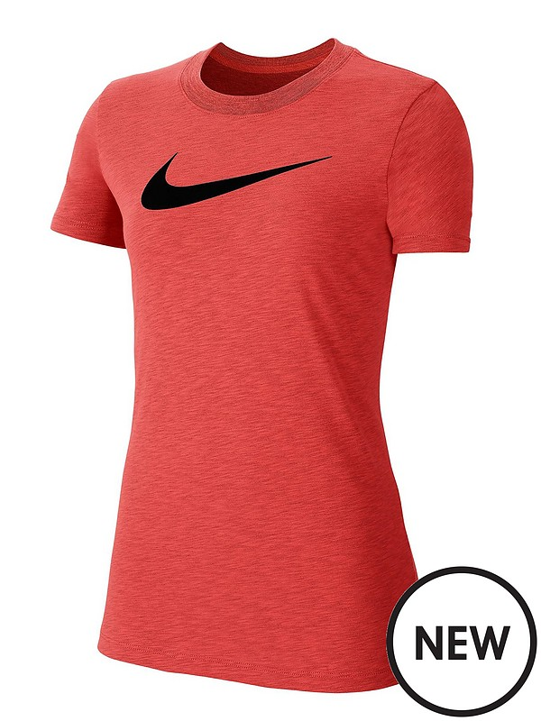 Nike Boys Dfc Lines Swoosh T-Shirt