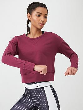 Nike  Yoga Wrap Cover Up - Deep Red