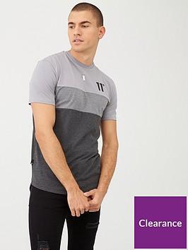 11-degrees-triple-panel-t-shirt-grey