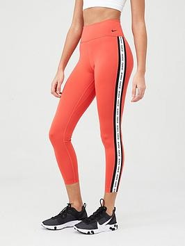 Nike Nike The One Crop Novelty Legging - Red Picture