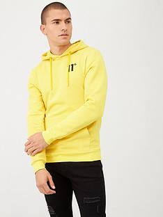 11-degrees-pull-over-hoodie-yellow