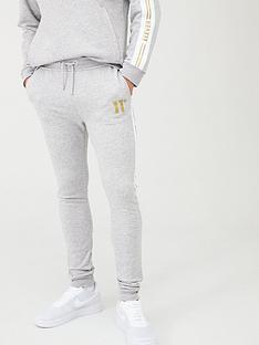 11-degrees-taped-joggers-grey-marl