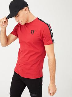 11-degrees-asymmetric-t-shirt-red
