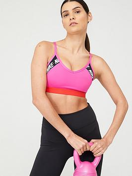 Nike Nike Light Support Indy Logo Sports Bra - Pink Picture