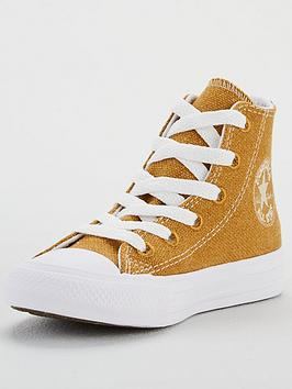 Converse Converse Childrens Renew Cotton Chuck Taylor All Star High Top-  ... Picture