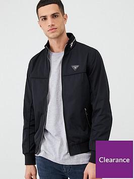 river-island-black-mcmlx-zip-front-racer-jacket
