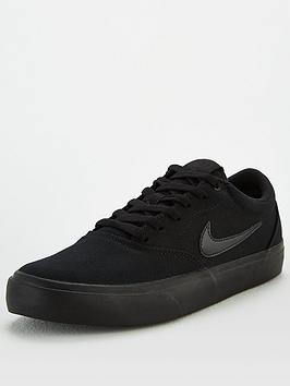 Nike Nike Sb Charge Canvas - Black Picture