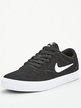 Nike Nike Sb Charge Suede - Black/White Picture
