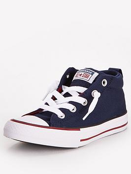 Converse Converse Chuck Taylor All Star Mid Street Varsity Childrens  ... Picture