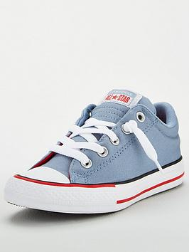 Converse Converse Chuck Taylor All Star Street Varsity Slip-On Childrens  ... Picture