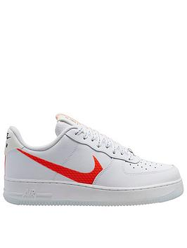 Nike Nike Air Force 1 '07 Lv8 - White/Orange Picture