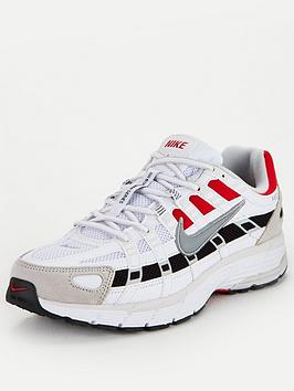 Nike Nike P-6000 - White/Black/Red Picture