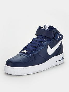 Nike Nike Air Force 1 Mid '07 - Navy/White Picture