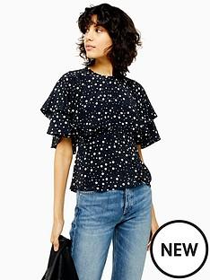 topshop-austin-spot-blouse-mono