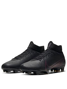 Nike Nike Mercurial Superfly 7 Pro Firm Ground Football Boots - Black Picture