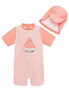 v-by-very-girls-watermelon-2-piece-sunsafe-and-hat-pink