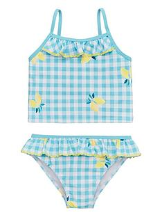 v-by-very-girls-lemon-print-gingham-tankini-mint