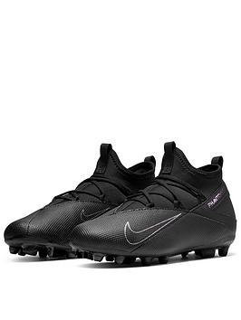 Nike Nike Junior Phantom Vision Club Firm Ground Football Boots - Black Picture