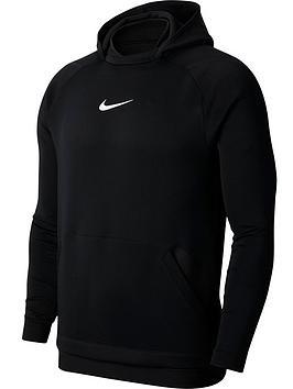 Nike Nike Npc Contrast Pullover Hoodie - Black Picture