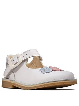 Clarks Clarks Toddler Girl Comet Gem Shoes - White Picture