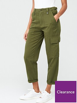 v-by-very-cargo-utility-trouser-khaki