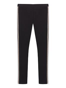 mintie-by-mint-velvet-girls-side-stripe-leggings-blackgold