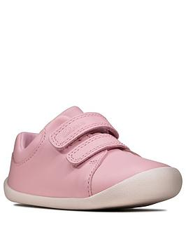 Clarks Clarks Toddler Girls Roamer Craft Canvas Shoes - Pink Picture