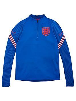 nike-junior-england-strike-drill-top-blue