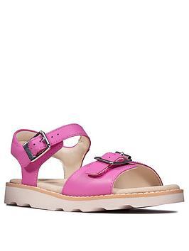 Clarks Clarks Crown Bloom Girls Sandal - Pink Picture