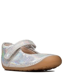 clarks-first-tiny-mist-shoe-silver