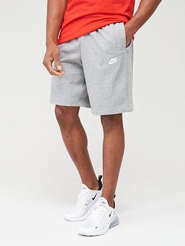 Nike Nike Club Jersey Shorts - Dark Grey Picture