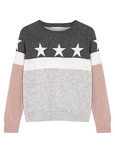 mintie-by-mint-velvet-girls-star-colourblock-sparkle-knit-jumper-grey