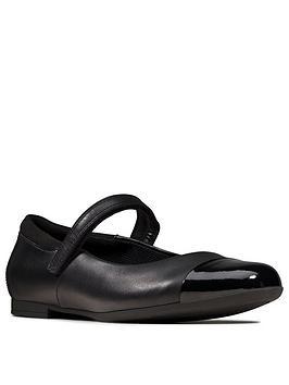 Clarks Clarks Girls Scala Gem School Shoe Picture