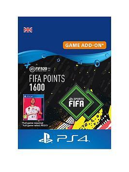 Playstation 4 Fifa 20: Ultimate Team&Trade; 1600 Points - Digital Download