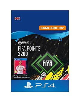 Playstation 4 Playstation 4 Fifa 20: Ultimate Team&Trade; 2200 Points -  ... Picture