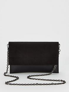 v-by-very-kristina-double-gusset-clutch-bag-black