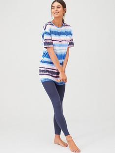 v-by-very-tie-dye-leggings-and-long-tee-pj-set-multi