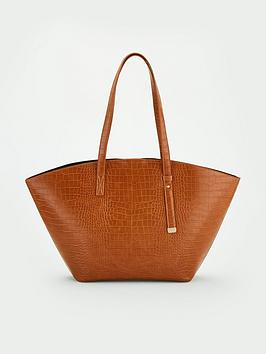 V by Very V By Very Jadie Wing Shopper - Tan Picture