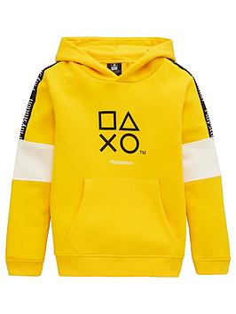 Playstation Playstation Boys Playstation Hoodie - Yellow Picture