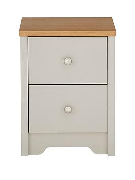 Very  Bedford 2 Drawer Bedside Cabinet