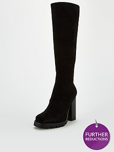 v-by-very-frayah-square-toe-knee-boots-black