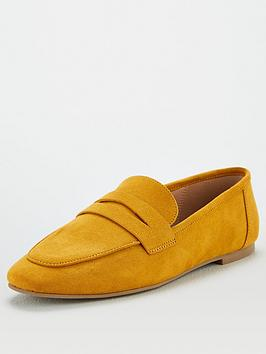 V by Very V By Very Mya Square Toe Penny Loafer Picture