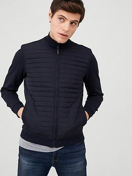 ted-baker-long-sleeve-quilted-funnel-neck-jacket-navy