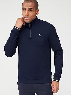 ted-baker-long-sleeved-funnel-neck-sweatshirt-navy