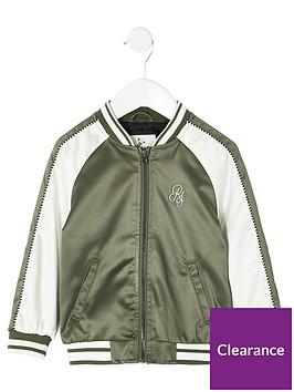 river-island-mini-mini-boys-ri-bomber-jacket-khaki