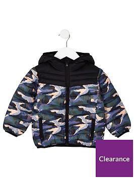 river-island-mini-mini-boys-camo-padded-coat-black