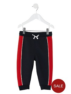 river-island-mini-mini-boys-panelled-jog-pants-navy
