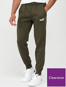 puma-essential-logo-joggers-khaki